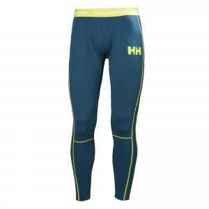 Pantaloni First Layer Barbati Helly Hansen Hh Lifa Active Turcoaz