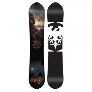 Placa Snowboard Unisex Never Summer West Bound 160 Negru
