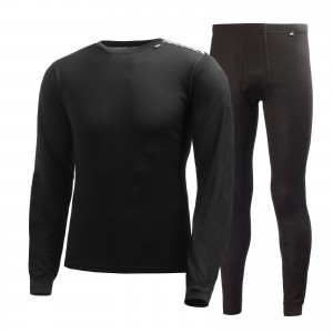 Set First Layer Barbati Helly Hansen Hh Comfort Light Negru