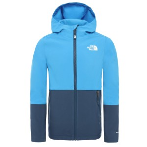 Geaca Softshell Copii The North Face Boys Softshell Jacket Clear Lake Blue (Albastru)