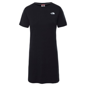 Tricou Drumetie Femei The North Face W Simple Dome Tee Dress Tnf Black (Negru)