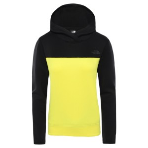 Hanorac Drumetie Femei The North Face W Active Trail Spacer Pullover-EU Tnf Black/Tnf Lemon (Negru)