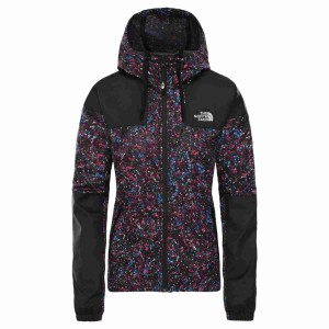 Geaca Drumetie Femei The North Face W Sheru Jacket-EU Wild Aster Purple Splat Tr Print (Mov)