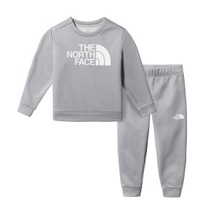 Set Bluza Si Pantaloni Casual Copii The North Face Toddler'S Surgent Crew Set Gri