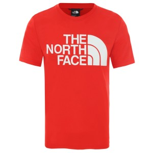 Tricou Drumetie Barbati The North Face M Reaxion Easy Tee Fiery Red (Rosu)