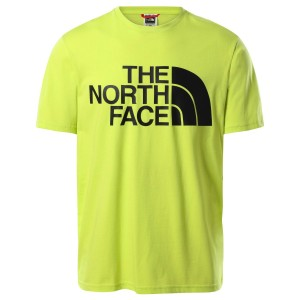 Tricou Casual Barbati The North Face Standard S/S Tee Lime