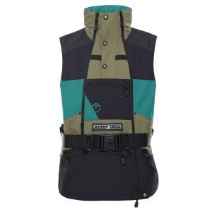 Vesta Activitati Urbane Barbati The North Face Steep Tech Vest Burnt Olive Green/Ever Green/Tnf Black (Kaki)