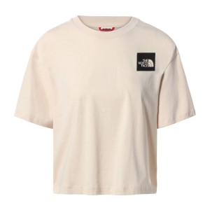 Tricou Casual Femei The North Face Cropped Fine Tee Somon