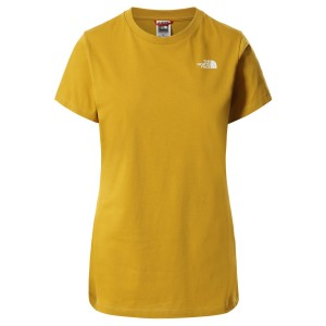 Tricou Casual Femei The North Face S/S SIMPLE DOME TEE Mustar