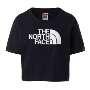 Tricou Casual Femei The North Face CROPPED EASY TEE Bleumarin