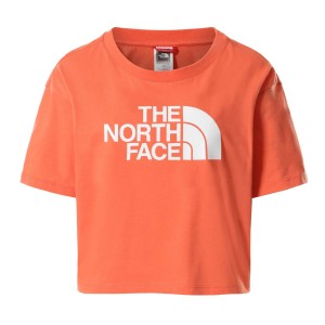 Tricou Casual Femei The North Face CROPPED EASY TEE Somon