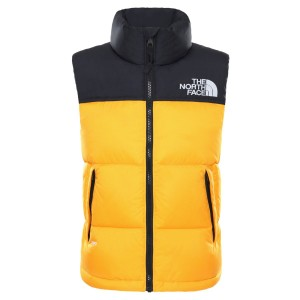 Vesta Puf Activitati Urbane Copii The North Face Youth 1996 Retro Nuptse Vest Summit Gold (Galben)