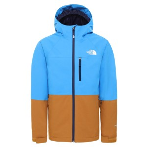 Geaca Ski Copii The North Face Youth Chakado Insulated Jkt Clear Lake Blue (Albastru)