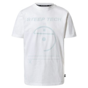 Tricou Casual The North Face Steep Tech Light S/S Top Alb
