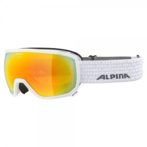Ochelari Ski Si Snowboard Unisex Alpina Scarabeo HM White/Red Negru