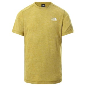 Tricou Drumetie Barbati The North Face Lightning S/S Tee Mustar