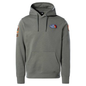 Hanorac Casual Barbati The North Face Novelty Patch Pullover Hoodie Kaki