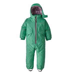 Combinezon Ski Copii 0-5 ani Patagonia Baby Snow Pile One-Piece Plains Green (Verde)