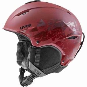 Casca Ski si Snowboard Unisex Uvex Primo Style Rusty Red Mat (Visiniu)