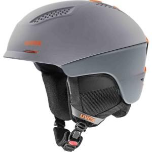 Casca Ski si Snowboard Unisex Uvex Ultra Dark Slate Orange Mat (Antracit)