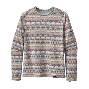 Bluza Copii 5-14 ani Patagonia K's Capilene Crew Tailored Grey (Multicolor)