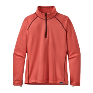 Bluza Mid-Layer Fete Hiking Patagonia Capilene Heavyweight Zip-Neck Portocaliu
