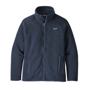 Polar Copii 5-14 ani Patagonia Girls' Better Sweater New Navy (Bleumarin)