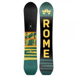Placa Snowboard Unisex Rome Stale Crewzer 158 Multicolor