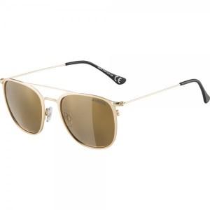 Ochelari De Soare Unisex Alpina Zuku Gold Matt/Gold Mirror Auriu