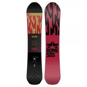 Placa Snowboard Unisex Rome Speed Freak 158 Multicolor