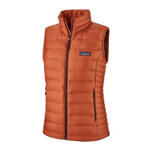 Vesta Puf Femei Patagonia Down Sweater Vest Sunset Orange  (Portocaliu)