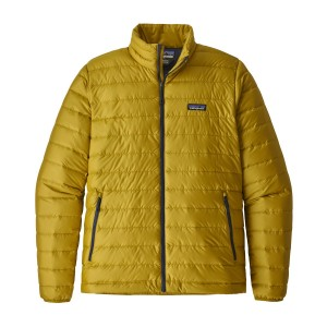 Geaca Barbati Hiking Patagonia Down Sweater Mustar / Bleumarin