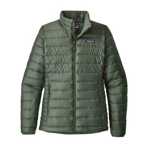 Geaca Femei Hiking Patagonia Down Sweater Verde