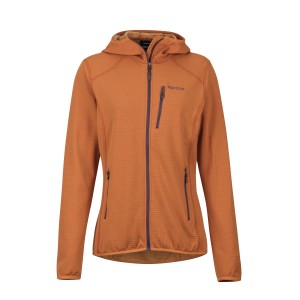 Bluza Mid-Layer Femei Hiking Marmot Preon Portocaliu