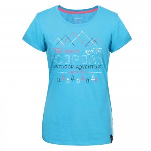 Tricou Femei Ice Peak Stacy Turcoaz