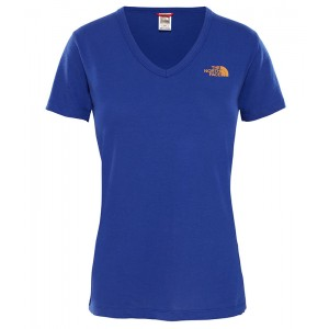 Tricou Femei The North Face Simple Dome Albastru
