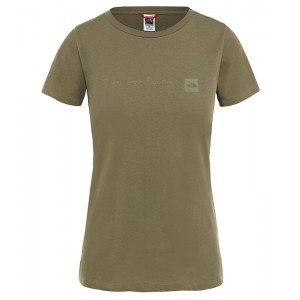 Tricou Femei The North Face Nse Verde