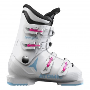 Clapari Ski Fete Atomic Hawx 4 Alb / Albastru 2019
