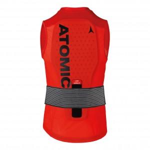 Protectie spate Barbati Atomic Live Shield Vest M Rosu
