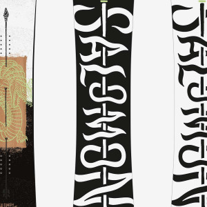 SALOMON PLACA SNOWBOARD ASSASSIN BARBATI Verde