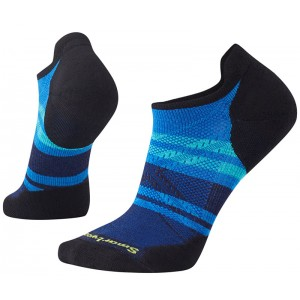 Sosete Smartwool Phd Run Light Elite Pattern Micro M Albastru
