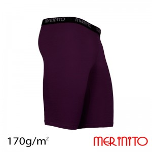 Pantaloni First Layer Merinito 100% lana merinos 170G M Mov