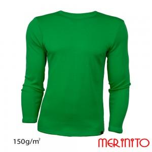 Bluza First Layer Merinito 100% lana merinos 150G M Verde