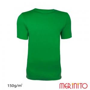 Tricou Merinito 100% Merinos 150g M Verde