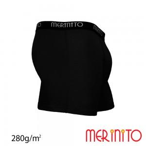 Lenjerie Merinito Heavy Duty Boxer Thermoplus+ 280g M Negru