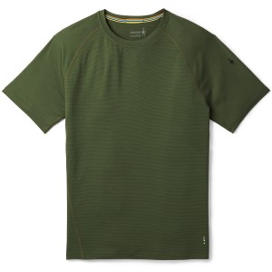 Tricou First Layer Barbati Smartwool Merino 150 Baselayer Pattern Short Sleeve Verde