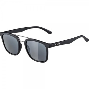 Ochelari De Soare Unisex Alpina Caruma I Black Matt Negru