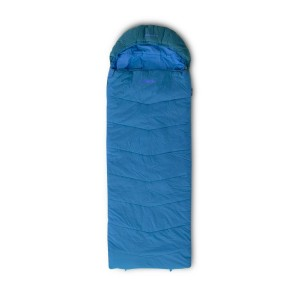 Sac De Dormit Copii Pinguin Blizzard Junior PFM -17C Regular 150CM Fermoar Dreapta Albastru