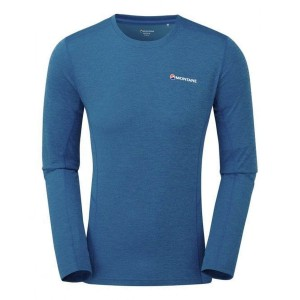 Bluza Corp Barbati Montane Dart L/S Electric blue