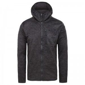 Polar Drumetie Barbati The North Face M Canyonlands Full Zip Tnf Dark Grey Heather (Gri)